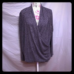 Talbots Crossover Top